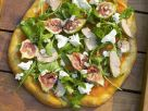 Pizza with Foie Gras, Rocket and Figs recipe