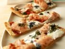 Pizza with Lox recipe