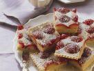 Plum and Cappuccino Slices recipe