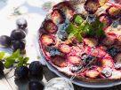 Plum and Vanilla Pie recipe