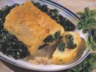 Polenta Roulade with Spinach recipe