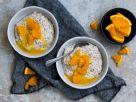 Poppy Seed Semolina Porridge with Orange Sauce recipe