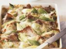 Pork and Leek Gratin with Cheese recipe