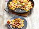 Pork and Pasta Skillet recipe