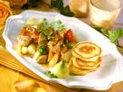 Pork and Vegetable Ragout with Buckwheat Blini recipe