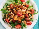 Pork, Chickpea and Arugula Salad recipe