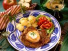 Pork Chop with Apple and Parsley Potatoes recipe
