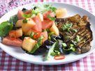 Pork Chop with Melon Salad recipe