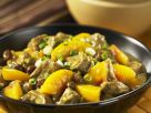 Pork Peach Curry recipe
