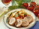 Pork Rolls with Pasta recipe