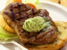 Pork Steaks with Herb Butter recipe