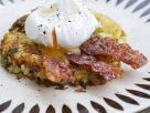Potato and Cabbage Cake with Egg recipe