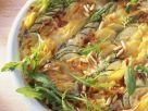 Potato and Zucchini Gratin with Arugula recipe