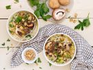 Potato Beef Soup with Mushrooms recipe