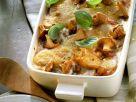 Potato Lasagna with Mushrooms recipe