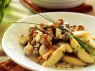 Potato Noodles with Mushrooms recipe