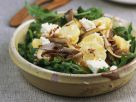 Potato Salad with Oyster Mushrooms and Arugula recipe