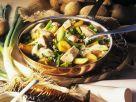 Potatoes with Smoked Mackerel and Mustard Sauce recipe