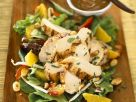 Poultry with Raw Vegetables and Tamarind Dressing recipe