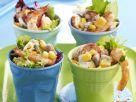 Prawn and Corn Salad Cups recipe
