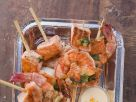 Prawn and Salmon Skewers recipe