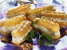 Profiteroles Stuffed with Herb Cream recipe