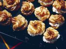 Profiteroles with Quark Filling and Liver Filling recipe
