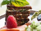 Pumpernickel and Salmon Stacks recipe