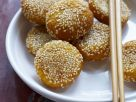 Pumpkin and Sesame Cakes recipe