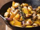 Pumpkin, Chestnuts and Onions recipe