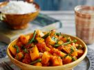 Pumpkin Curry with Beans recipe