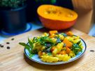 Pumpkin Pasta with Arugula recipe