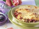Quark Rhubarb Gratin with Almonds recipe