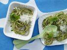 Quick Pasta with Green Pesto recipe