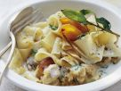Rabbit Stew with Pasta and Apricot Sauce recipe