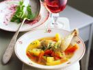 Rabbit Vegetable Stew recipe