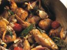Rabbit with Mediterranean Vegetables recipe