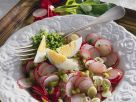 Radish Salad with Scallions recipe