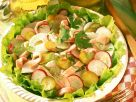 Radish Salad with Smoked Pork recipe