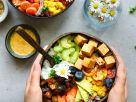 Rainbow Buddha Bowl with Teriyaki Tofu recipe