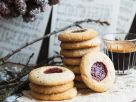 Raspberry Almond Thumbprint Cookies recipe