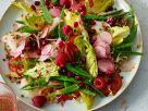 Raspberry and Kohlrabi Salad recipe