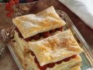 Raspberry and Vanilla Cream Pastries recipe
