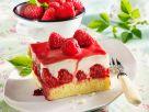 Raspberry and Yoghurt Slices recipe