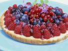 Raspberry, Blueberry, and Redcurrant Tart recipe