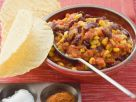 Red Bean Chili with Tacos recipe