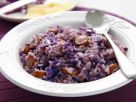 Red Cabbage Risotto with Sausage recipe