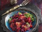 Red Cabbage Salad with Pomegranate Seeds recipe