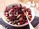 Red Cabbage Salad with Raisins and Hazelnuts recipe