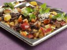 Reindeer Meat with Vegetables and Apples recipe
